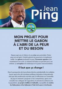 Résumé de mon projet pour le Gabon - Jean Ping