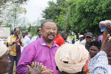 Jean ping dans l'Ogooué-Lolo Gabon Review