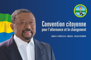 convention citoyenne Jean Ping 2016