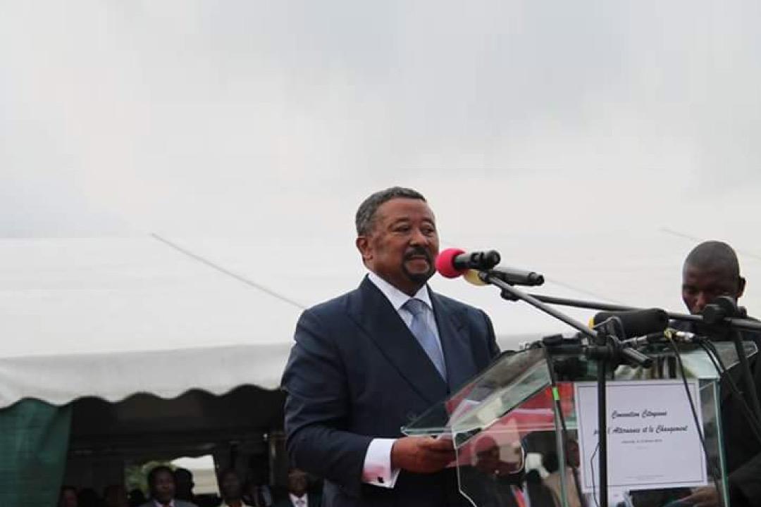 Jean Ping à la convention Citoyenne Gabon